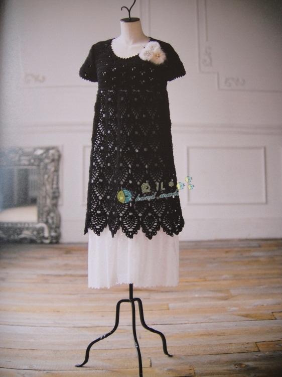 siyah renkli dantel mini elbise modeli