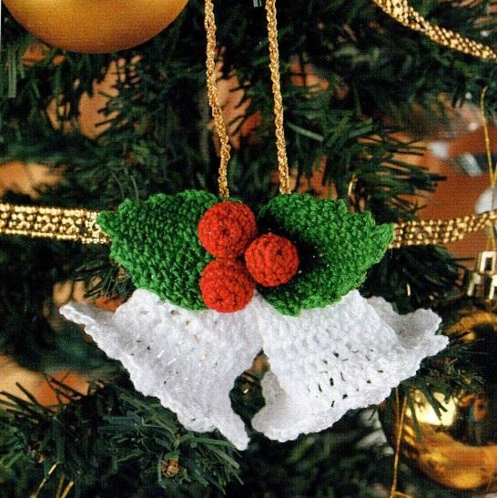 yılbaşı ağacı  örgü çan modeli
