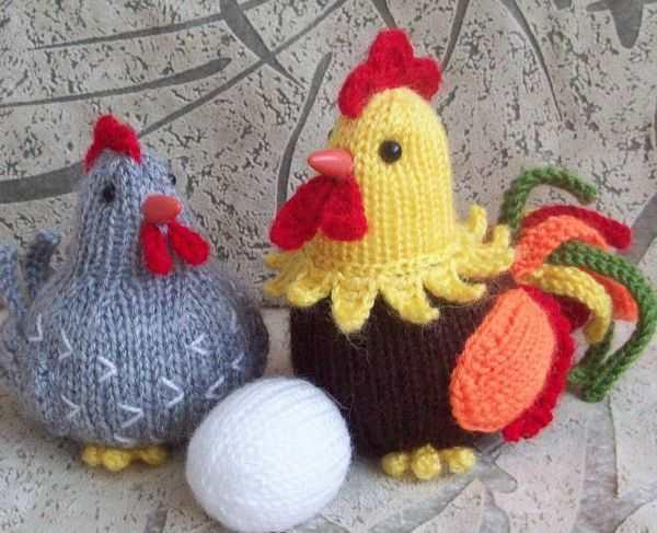 örgüden tavuk horoz ve yumurtası