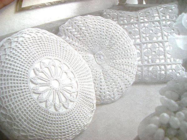 dantel yastıklar